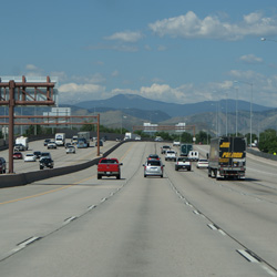 Interstate in Colorado